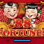 88 fortunes slot machine logo