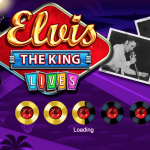 elvis the king lives loading screen