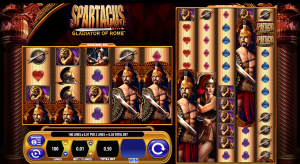 spartacus gladiator of rome slot